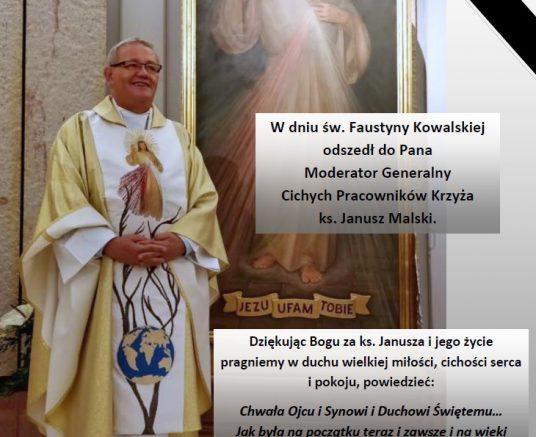 Ostatnie pożegnanie Ks. Janusza Malskiego